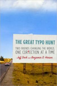The Great Typo Hunt: Deck and Herson come to the Plaza Branch Wednesday, September 8.
