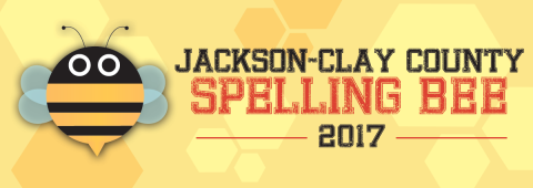 Those still standing after division competition in the Jackson-Clay County Spelling Bee face off for the bee championship. The winner moves on to the Scripps National Spelling Bee in Washington, D.C., in May.