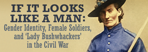 Public historians Diane Eickhoff and Aaron Barnhart recall how hundreds of women defied cultural norms of the time to participate in the Civil War, cutting their hair, binding their breasts, donning men's clothing, and reporting to army recruiters for duty. Others served as scouts or spies.