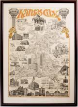 Architectural Icons of Kansas City (Orange)