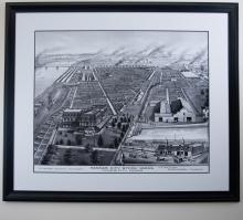Kansas City Stockyards Depiction