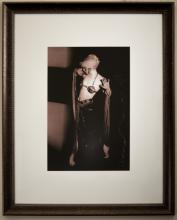 Portrait of Janette Hackett with Genie Bottle