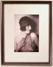 Portrait of Unknown Vaudevillian Starlet