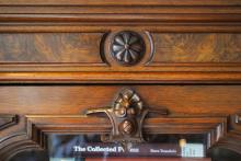 enaissance Revival Bookcase detail