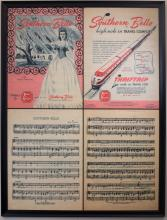 Southern Belle Train Advertising