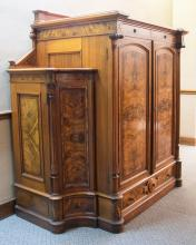 Victorian Cabinet, side view