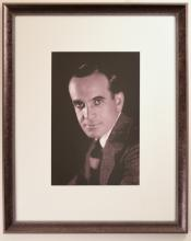 Portrait of Al Jolson in Tweed Suit