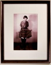 Portrait of Chic Sale in a Woman's Dress