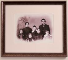 Portrait of Hixon Family, (II)