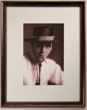 Portrait of Unknown Vaudevillian Actor with Bolero and Cigarette