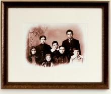 Portrait of the Hixon Family (i)