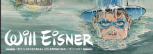 Will Eisner, whose considerable imprint on the field of comics ranges from his 1940s and '50s crimefighting hero The Spirit to his pioneering, late-'70s graphic novel A Contract with God, is spotlighted in this collection of 86 giclees (fine art digital lithographs). They are reproduced from his original artwork.