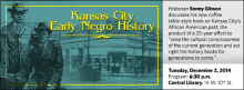 """Historian Sonny Gibson discusses his new coffee table-style book on Kansas City's African American past, the product of a 25-year effort to """"raise the cultural consciousness of the current generation and set right the history books for generations to come."""""""