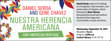 Daniel Serda reports his findings on immigration, discrimination, and preservation of Hispanic culture followed by Gene Chavez discussing the social and political dynamics that shape how communities co-exist and thrive.