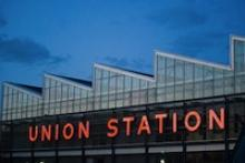 Union Station neon sign photo