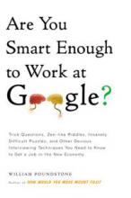 Are You Smart Enough to Work at Google? book cover