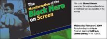 The Manifestation of the Black Hero on Screen
