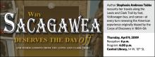 Stephenie Ambrose Tubbs: Why Sacagawea Deserves the Day Off