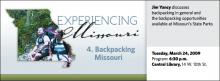 Backpacking Missouri
