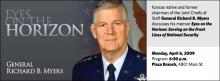 General Richard B. Myers: Eyes on the Horizon
