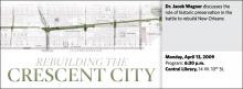 Jacob Wagner: Rebuilding the Crescent City