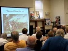 Tim Westcott lectures on General Order No. 11