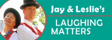Kansas City-area entertainers Jay and Leslie Cady have been delighting fans young and old since 1980. They're off and running again, delivering a lively mix of juggling, mime, magic, and other nonsense. For all ages.