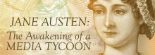 Writer and filmmaker Karen Kelleher Bacon explores the enduring global obsession with author Jane Austen, a product of her literary genius, manners and morals, and standing as an authority on the magic of lovers. Following: a screening of the 2007 film adaptation of Austen's Persuasion.