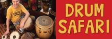 Join a musical safari, encountering an array of African animals whose names are set to rhythm. Then, pick a percussion instrument and let the jungle jam begin. A joyful sense of community begins to develop.
