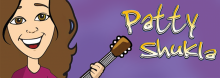"""Miss Patty"" Shukla writes catchy music in a variety of upbeat styles with simple lyrics that allow kids to sing and dance along. Jump, spin, balance, wiggle, boogie, and learn – all at the same time. Appropriate for all ages."