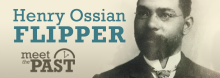Trailblazing Buffalo Soldiers commander Henry Ossian Flipper – portrayed by veteran Kansas City actor Damron Russel Armstrong – sits down with Library Director Crosby Kemper III in the latest installment of the Library's Emmy-winning Meet the Past series.
