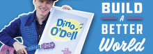 Take a musical trip around the globe with award-winning educator, author, and songwriter Dino O'Dell, and discover how you can build a better world – while swimming with piranhas in South America or jumping with kangaroos in Australia.