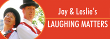 Kansas City-area entertainers Jay and Leslie Cady have been delighting fans young and old since 1980. They're off and running again, delivering a lively mix of circus skills, funny fables, and audience participation.
