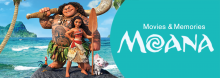 Disney's animated musical adventure Moana is featured in the latest installment of the Library's special, intergenerational movie series for individuals with dementia, their friends, and families. There's popcorn, and the ukulele duo Moonlight Serenade provides live music.