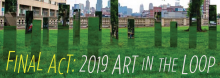 Celebrate what made the 2019 Art in the Loop Project: Make/Believe great. The curated outdoor exhibition, staged in partnership with the City of Kansas City, Missouri, and KC Streetcar, wraps up with a reception, illustrated review, and reflection on this year's entries.
