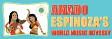 Amado Espinoza presents a fun, interactive concert that enlightens children and adults alike on the discovery and migration of music, its importance in culture and communities, and its potential for fostering respect and unity.