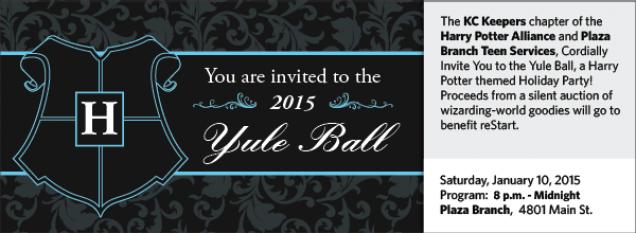 Yule Ball Kansas City Public Library