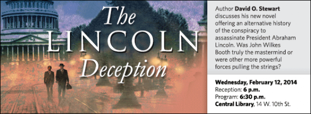 Author David O. Stewart discusses his new novel offering an alternative history of the conspiracy to assassinate President Abraham Lincoln. Was John Wilkes Booth truly the mastermind or were other more powerful forces pulling the strings?