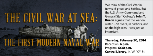 We think of the Civil War in terms of great land battles. But the U.S. Army Command and General Staff College's John T. Kuehn argues that the war on water – on rivers, in harbors, and on the high seas – was just as important.