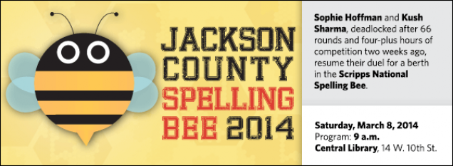 Sophie Hoffman and Kush Sharma, deadlocked after 66 rounds and four-plus hours of competition two weeks ago, resume their duel for a berth in the Scripps National Spelling Bee.