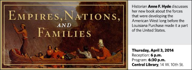 Historian Anne F. Hyde discusses her new book about the forces that were developing the American West long before the Louisiana Purchase made it a part of the United States.