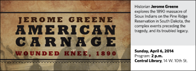Historian Jerome Greene explores the 1890 massacre of Sioux Indians on the Pine Ridge Reservation in South Dakota, the complex events preceding the tragedy, and its troubled legacy.