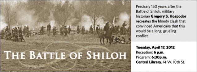 Precisely 150 years after the Battle of Shiloh, military historian Gregory S. Hospodor recreates the bloody clash that convinced Americans that the Civil War would be a long, grueling conflict.