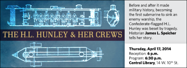 Before and after it made military history, becoming the first submarine to sink an enemy warship, the Confederate-flagged H.L. Hunley was beset by tragedy. Historian James L. Speicher tells her story.