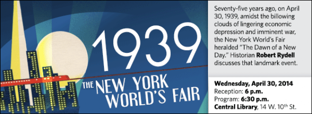 "Seventy-five years ago, on April 30, 1939, amid the billowing clouds of lingering economic depression and imminent war, the New York World's Fair heralded ""The Dawn of a New Day."" Historian Robert Rydell discusses that landmark event."