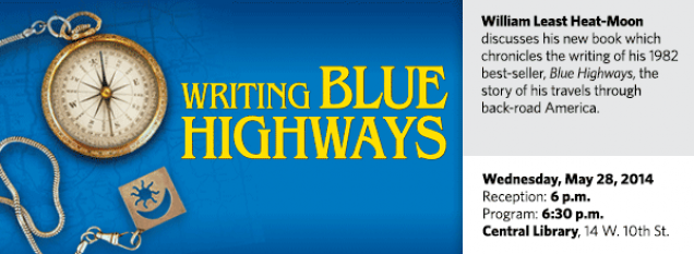 William Least Heat-Moon discusses his new book which chronicles the writing of his 1982 best-seller, Blue Highways, the story of his travels through back-road America.