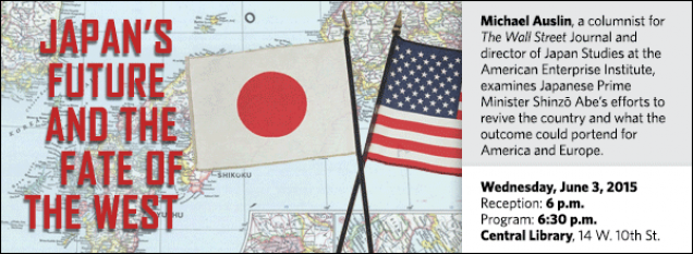 Michael Auslin, a columnist for The Wall Street Journal and director of Japan Studies at the American Enterprise Institute, examines Japanese Prime Minister Shinzo Abe's efforts to revive the country and what the outcome could portend for America and Europe.