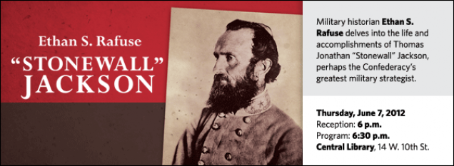 "Military historian Ethan S. Rafuse delves into the life and accomplishments of Thomas Jonathan ""Stonewall"" Jackson, perhaps the Confederacy's greatest military strategist."