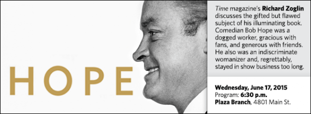 Time magazine's Richard Zoglin discusses the gifted but flawed subject of his illuminating book. Comedian Bob Hope was a dogged worker, gracious with fans, and generous with friends. He also was an indiscriminate womanizer and, regrettably, stayed in show business too long.