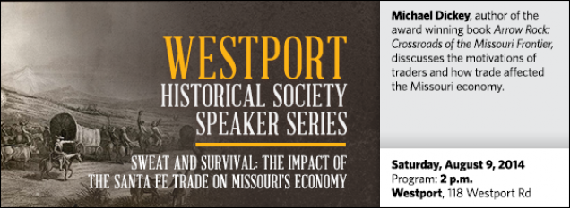 Michael Dickey, author of the award winning book Arrow Rock: Crossroads of the Missouri Frontier, disscusses the motivations of traders and how trade affected the Missouri economy.